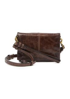 Frye Mel Leather Stadium Bag