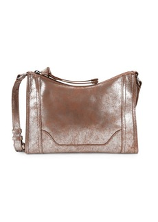 Frye Melissa Distressed Leather Crossbody Bag