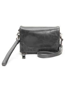 Frye Melissa Leather Stadium Bag