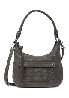 Frye Melissa Small Leather Studded Hobo Bag