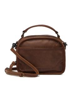 Frye Melissa Top Handle Leather Crossbody Bag