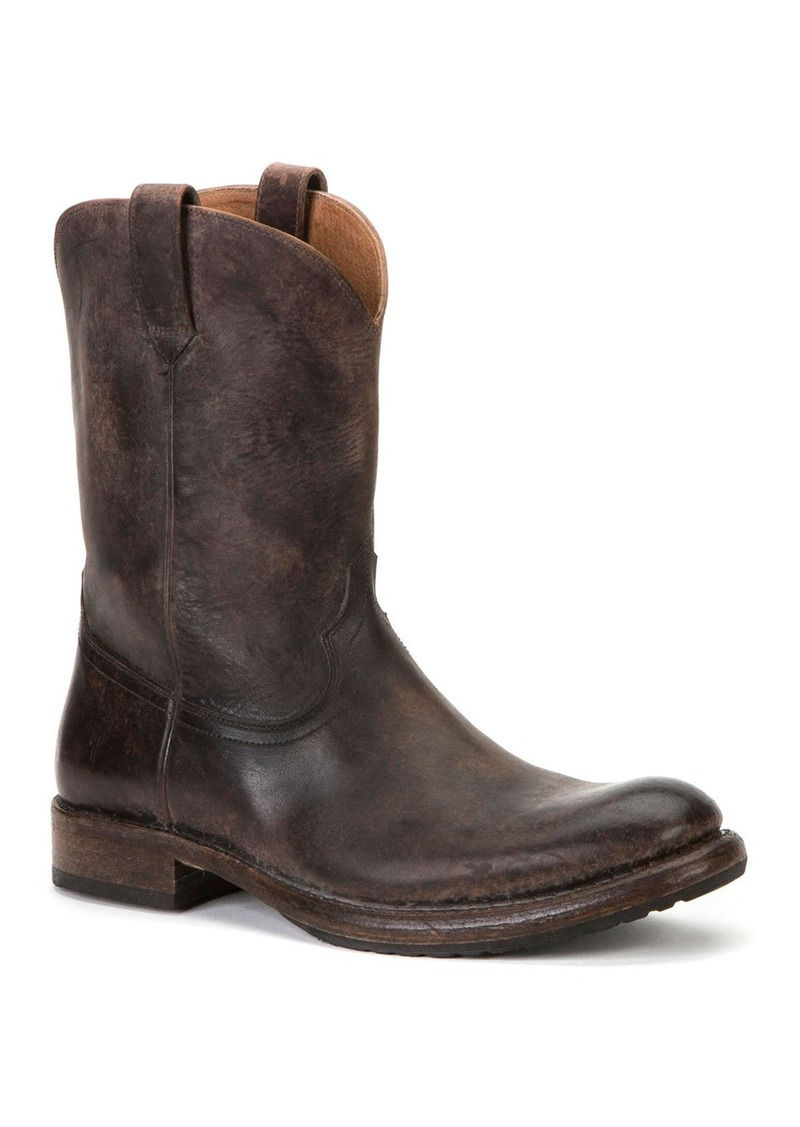 Frye Men's Duke Roper Western Leather Boots