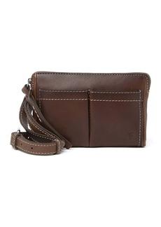 Frye Mindy Leather Stadium Bag