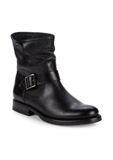 Frye Natalie Engineer Leather Moto Boots