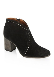 Frye Nora Studded Suede Ankle Boots
