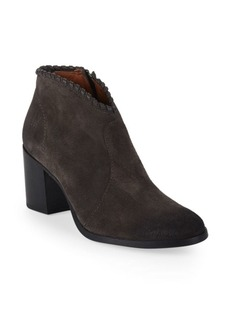 Frye Nora Whipstitch Suede Ankle Boots