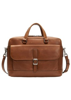 Frye Oliver Two-Handle Leather Messenger Bag