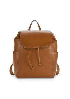 Frye Olivia Leather Backpack