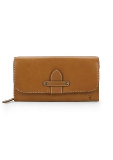 Frye Olivia Leather Long Wallet