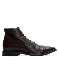 Frye Paul Lace-Up Leather Boots