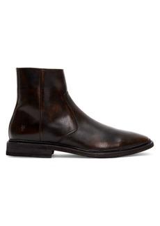 Frye Paul Side-Zip Leather Boots