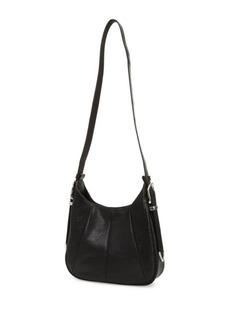 Frye Pleated Leather Crossbody Bag
