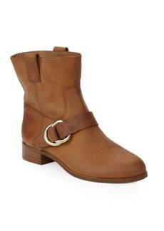 Frye Ricki Ring Strap Moto Boots