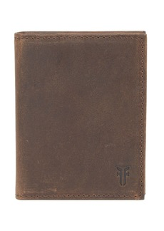Frye Semi Shine Bifold Leather Card Wallet