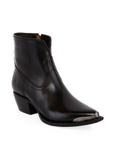 Frye Shane Tip Short Leather Boots