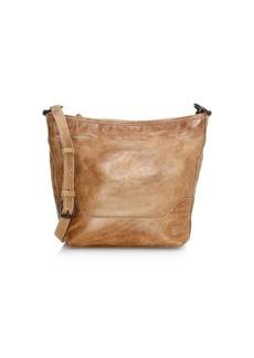 Frye Small Melissa Leather Hobo Bag