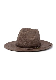 Frye Tall Crown Woven Fedora Hat