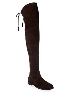 Frye Tara Stretch Thigh High Suede Boots