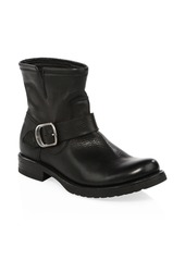 Frye Veronica Leather Moto Boots