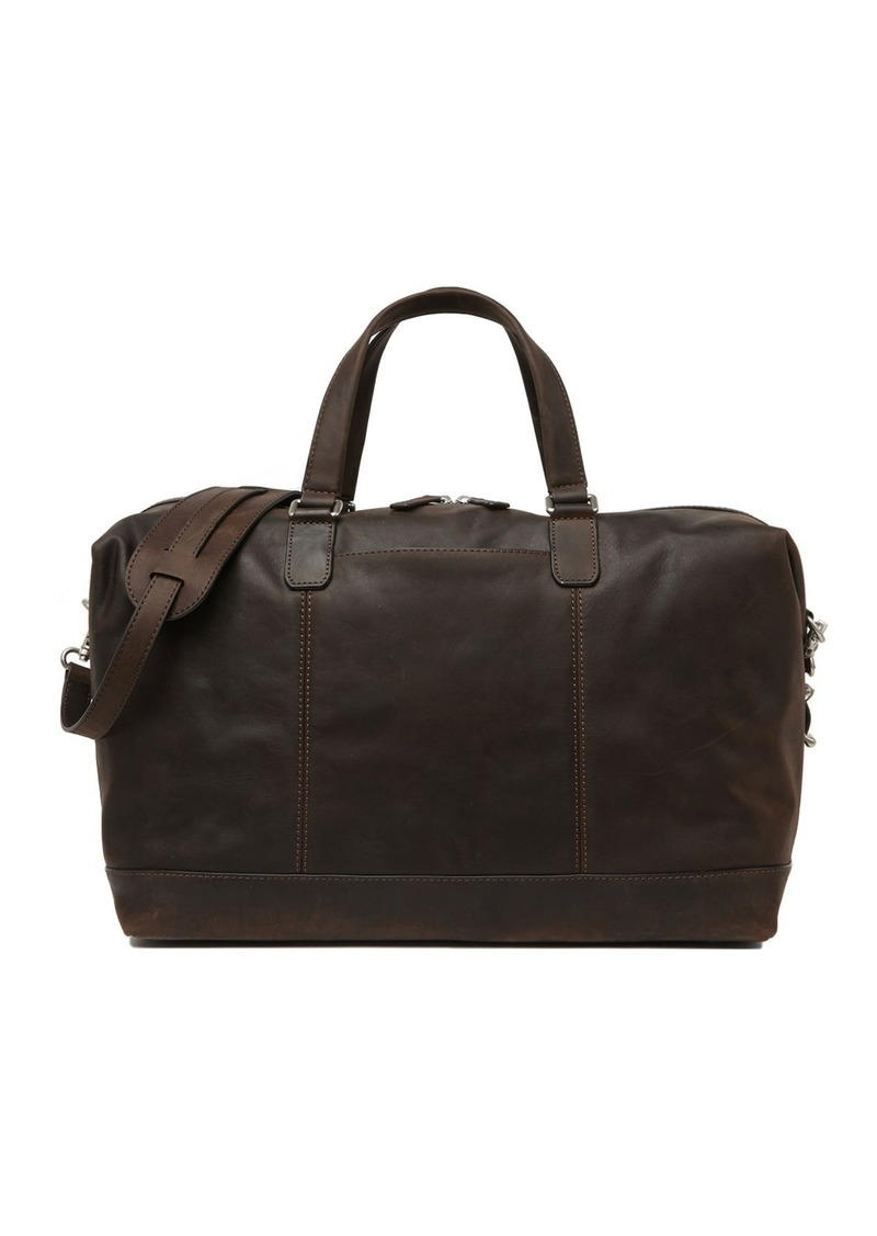 Frye Olive Vintage Leather Duffel Bag