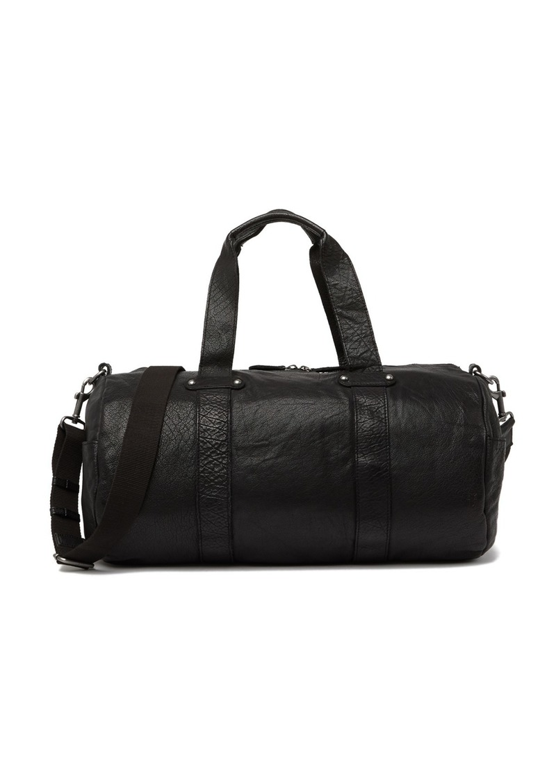 Frye Washed Leather Duffel Bag