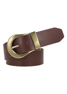 Women's Frye 2-Piece Leather Belt