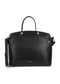 Furla Agata Leather Tote Bag