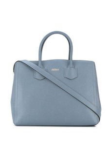Furla Alba grained-effect tote