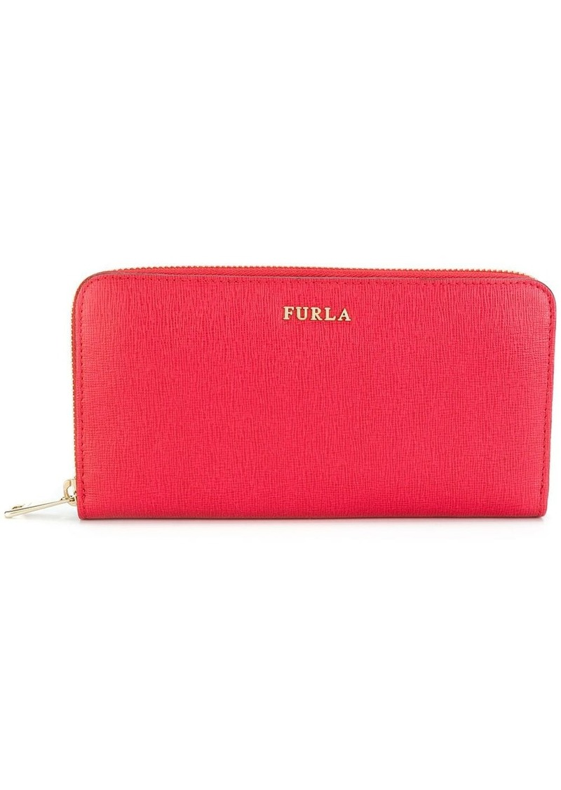 Furla all around zip wallet