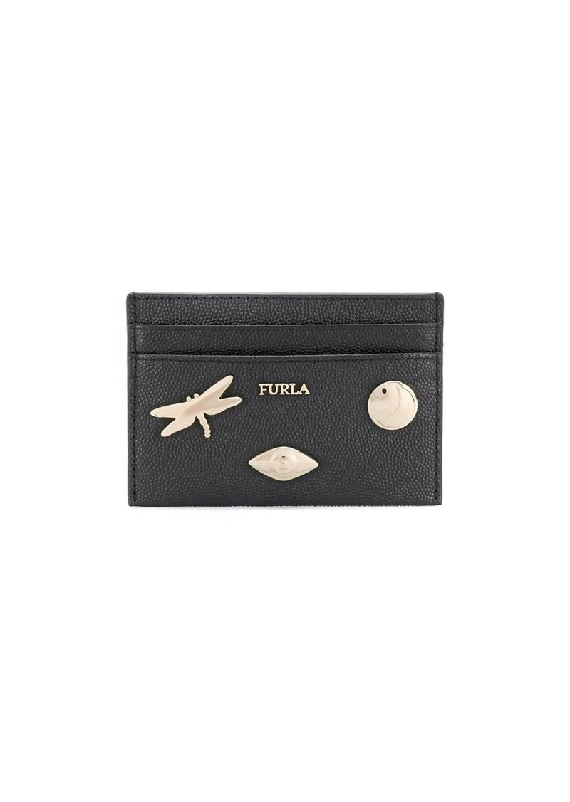 Furla Babylon badges cardholder wallet