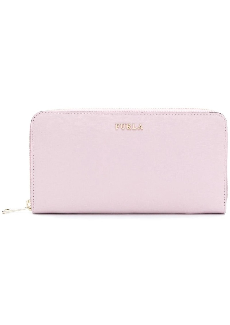 Furla Babylon zip around wallet