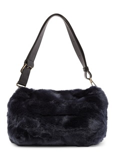 Furla Caos Faux Fur Shoulder Bag