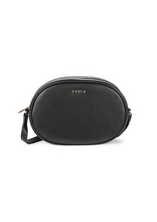 Furla Cara Mini Leather Crossbody Bag