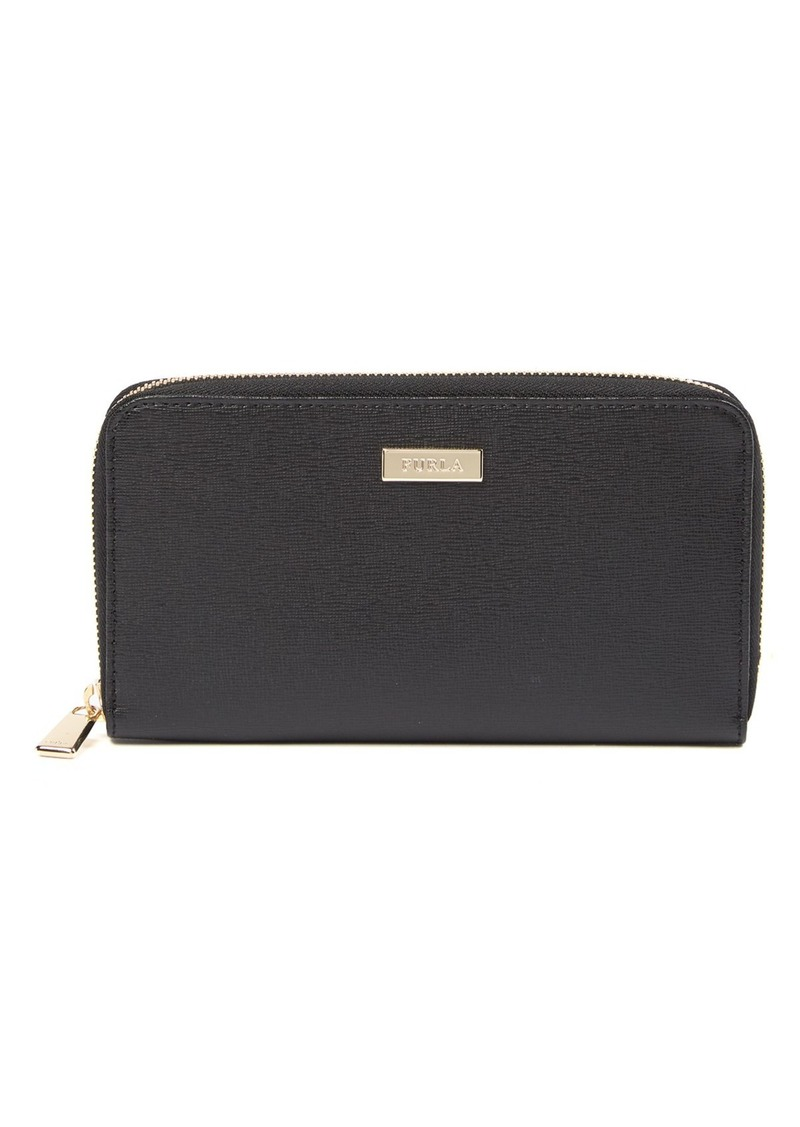 Furla Classic XL Zip Around Leather Wallet