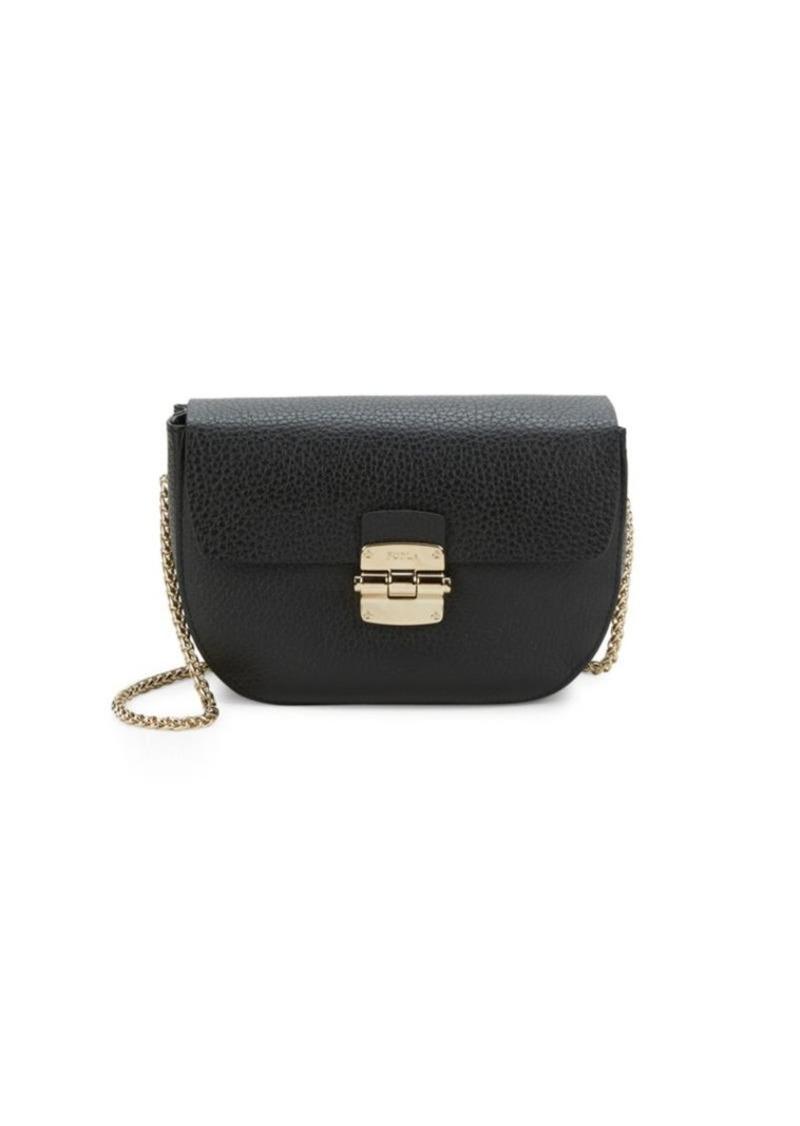 Furla Club Crossbody Pouch Handbags Brown