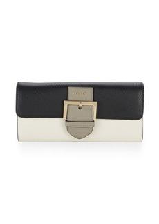 Furla Colorblock Leather Continental Wallet