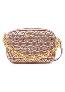 Furla Cometa Mini Shoulder Bag in Quilted Velvet