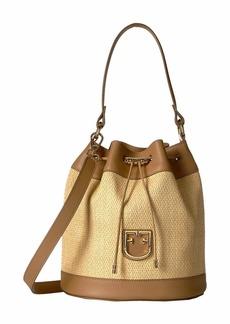 Furla Corona Small Drawstring Bucket Bag