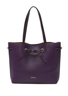 Furla Costanza Drawstring Leather Tote Bag