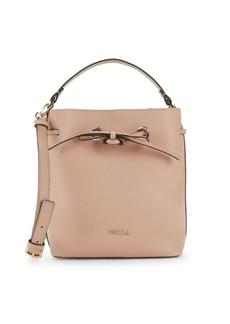 Furla Costanza Drawstring Top Leather Handbag