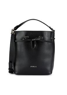 Furla Costanza Leather Drawstring Bag
