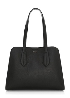Furla Diletta Leather Satchel