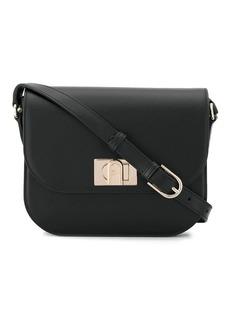 Furla flip-lock shoulder bag