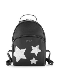 Furla Frida Leather & Mesh Backpack