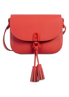 Furla 1927 Mini Crossbody Tassel Leather Bag