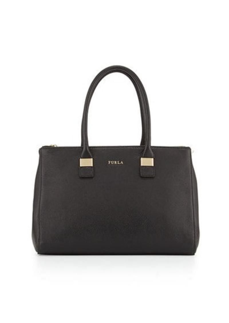 Furla Amelia Large Leather Tote Bag