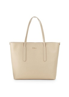 Furla Ariana Leather Open Tote Bag