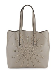 Furla Aurora Leather Tote