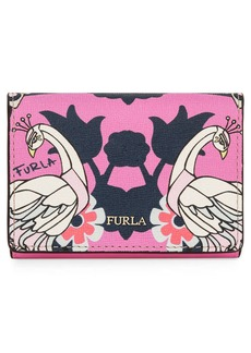 Furla Babylon Saffiano Leather Trifold Wallet