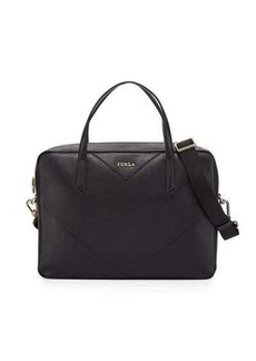 Furla Calypso Leather Satchel Bag